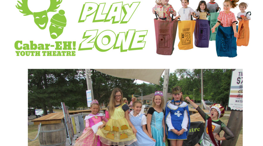 NEW to SLIDERFEST this year – Cabar-EH PLAY ZONE!